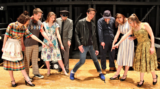 Wilkes-Barre's Wolfpack Players are 'All Shook Up' by Elvis musical on May 6-9