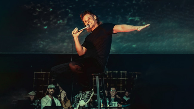 Comedian Theo Von performs live at F.M. Kirby Center in Wilkes-Barre on Oct. 9