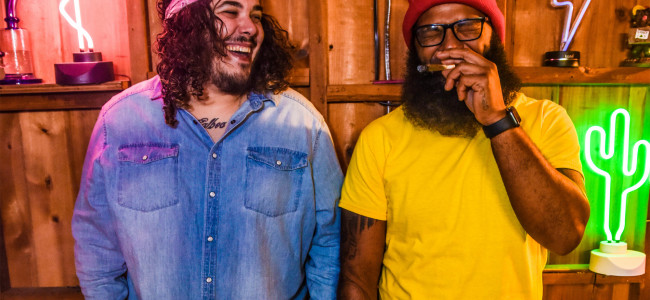 Marijuana dispensary Beyond/Hello opens in Hazleton with live performance by hip-hop duo Space Kamp