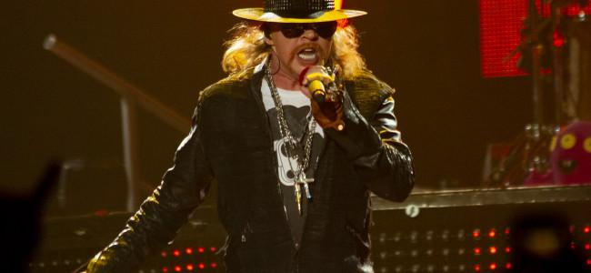 Guns N' Roses kick off tour at Hersheypark Stadium with Wolfgang Van Halen on July 31