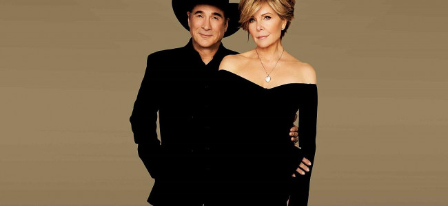 Country star Clint Black and wife Lisa Hartman Black sing 'Mostly Hits' at Kirby Center in Wilkes-Barre on Feb. 3
