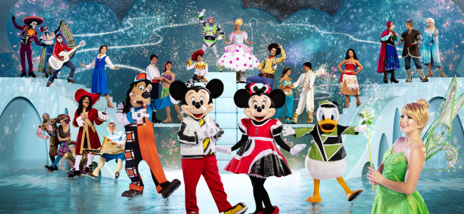 Disney on Ice skates back into Mohegan Sun Arena in Wilkes-Barre Aug. 19-22