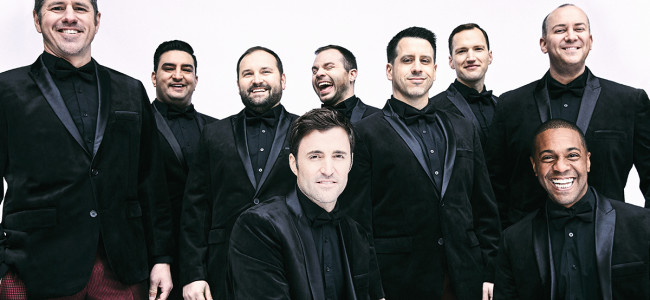 A cappella group Straight No Chaser sings at F.M. Kirby Center in Wilkes-Barre on Sept. 16