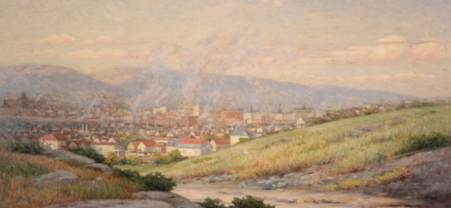 VIDEO: Everhart Museum acquires historic Scranton paintings by Dunmore artist John Willard Raught