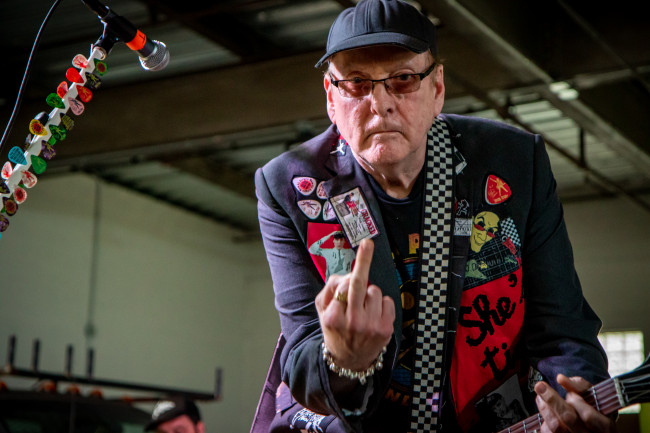 PHOTOS: The Nielsen Trust feat. Rick Nielsen of Cheap Trick in West Reading garage, 06/19/21