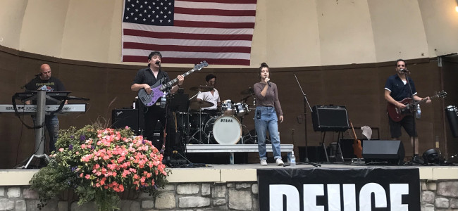 17-year-old Berwick singer Rose Ostrowski takes over as frontwoman of rock band Deuce