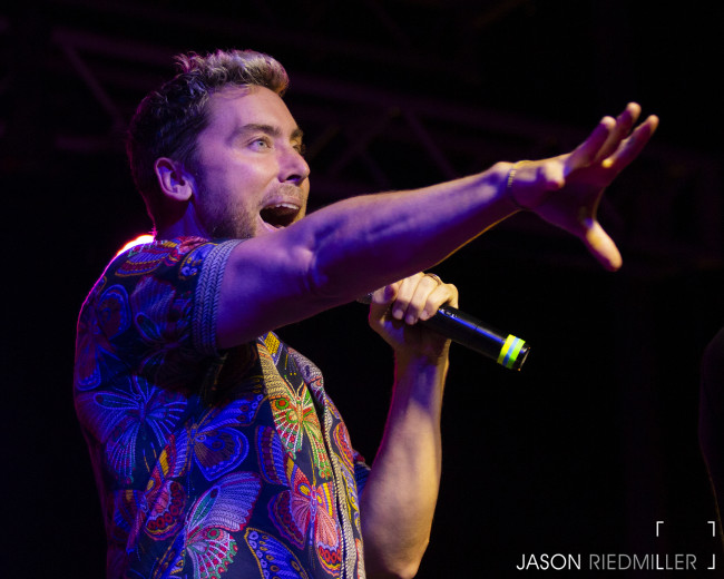 PHOTOS: Lance Bass, O-Town, LFO, Ryan Cabrerra, and Kelsie Watts at Circle Drive-In in Dickson City, 08/21/21