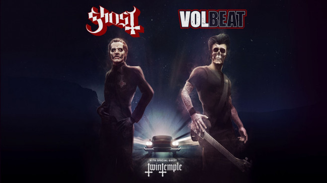 Ghost and Volbeat return to Giant Center in Hershey for co-headlining concert on Feb. 8, 2022