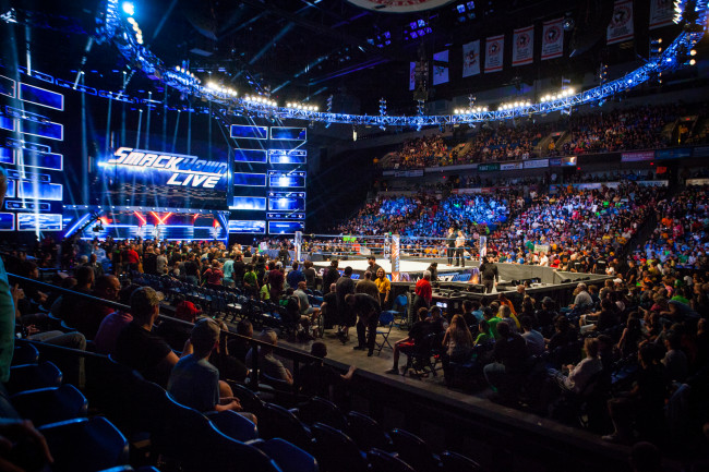 WWE SmackDown is back at Mohegan Sun Arena in Wilkes-Barre on Oct. 29, Raw returns on Feb. 21, 2022