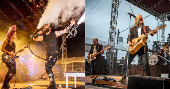 PHOTOS: Skillet and Switchfoot at Spyglass Ridge Winery in Sunbury, 08/28/21