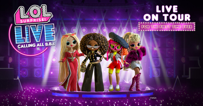 L.O.L. Surprise dolls come alive in hologram concert at F.M. Kirby Center in Wilkes-Barre on April 6, 2022