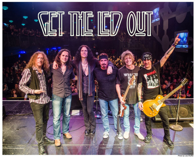 Celebrate New Year's Eve 2021 with Get the Led Out at F.M. Kirby Center in Wilkes-Barre