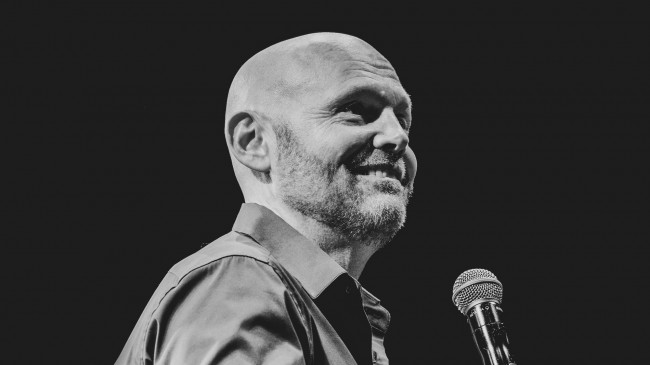 Comedian Bill Burr performs at Mohegan Sun Arena in Wilkes-Barre on June 16, 2022