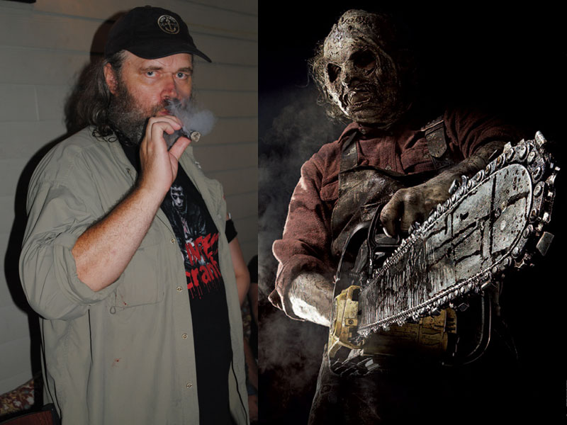 Dan Yeager Who Played Leatherface In Texas Chainsaw 3D