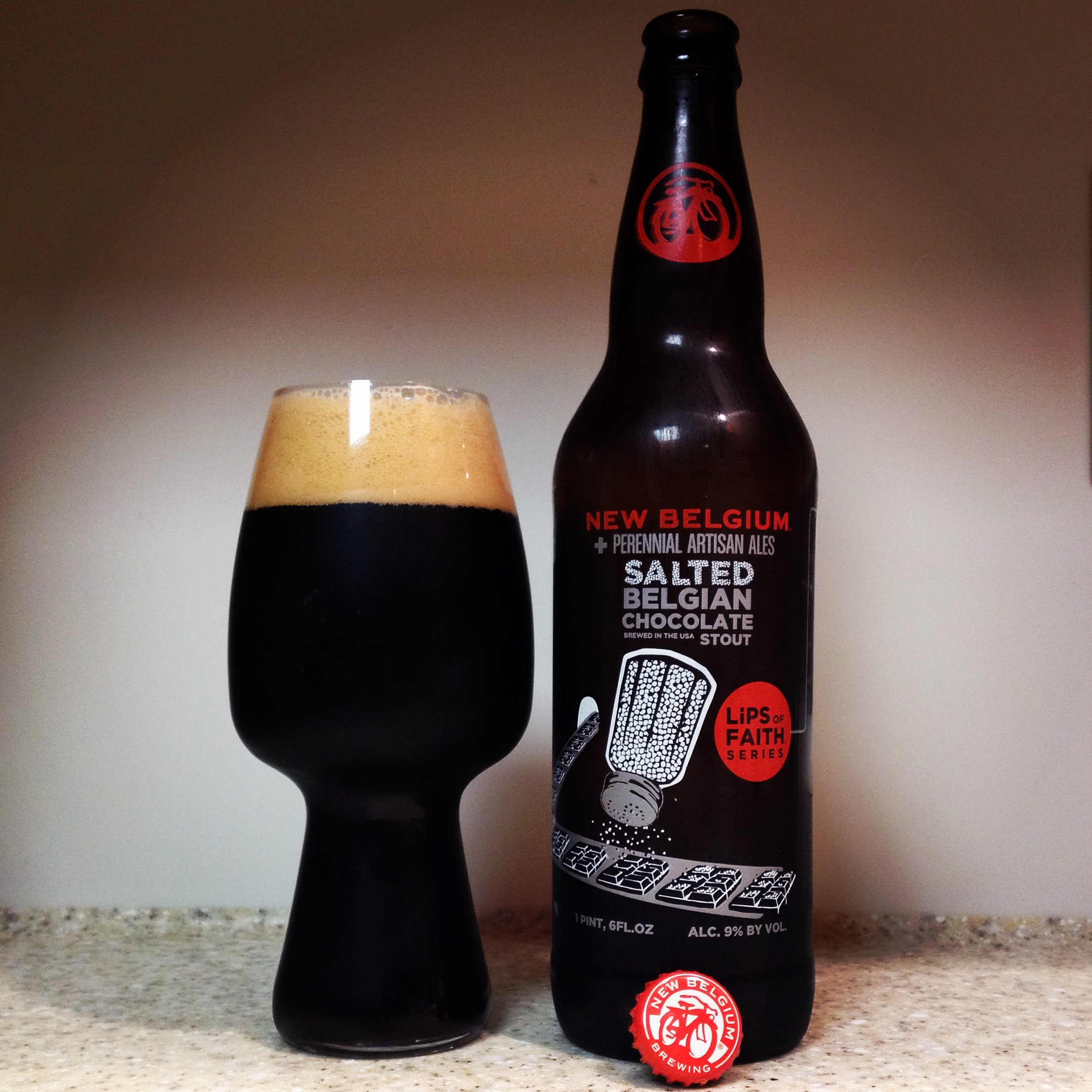 HOW TO PAIR BEER WITH EVERYTHING: Lips of Faith - Salted Belgian ...