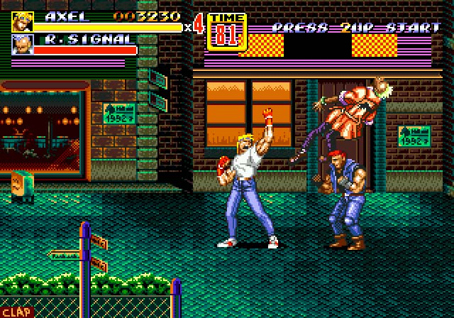 Turn To Channel 3 Is Streets Of Rage 2 The Best Sega