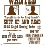 New Vintage Theater Ensemble Shut Up and Read