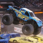 backwards bob monster jam truck