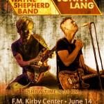 Kenny Wayne Shepherd Jonny Lang Wilkes-Barre Kirby