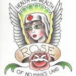 Rose of No Man's Land Three Guys Beer'd Electric City Tattoo