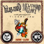 Yellowcard New Found Glory Tigers Jaw