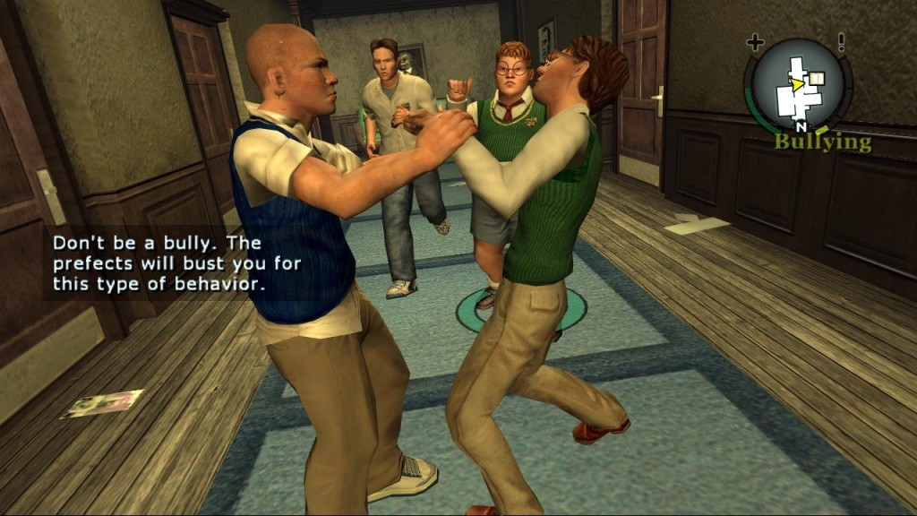 TURN TO CHANNEL 3: 'Bully' for the PS2 is head of the