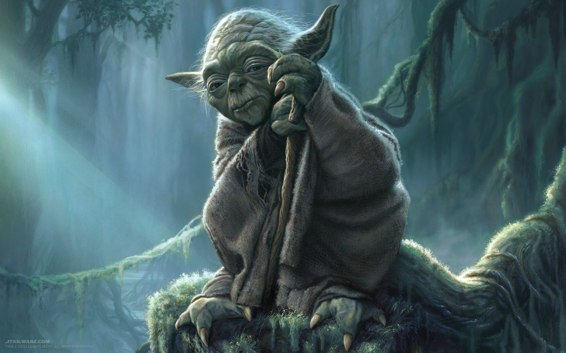 Strength focus do or do not there is no try nepa scene - Maitre yoda lego ...