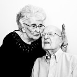 Neva and Harry. Married 65 years. This photos makes me wonder if I've ever really been in love. Scranton, PA. 1/24/15