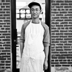 This is (John) Nguyen. He works at Hot Wok, which serve some pretty killer General Tso's tofu. I never realized it before today but there are three ethnic restaurants and four markets within two blocks of my apt. Oh! And a bar. Not sure why I ever leave my hood. Scranton, PA. 9/15/15