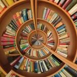 book shelf spiral