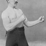manly man boxer
