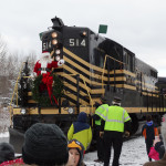 Santa Train Steamtown Scranton