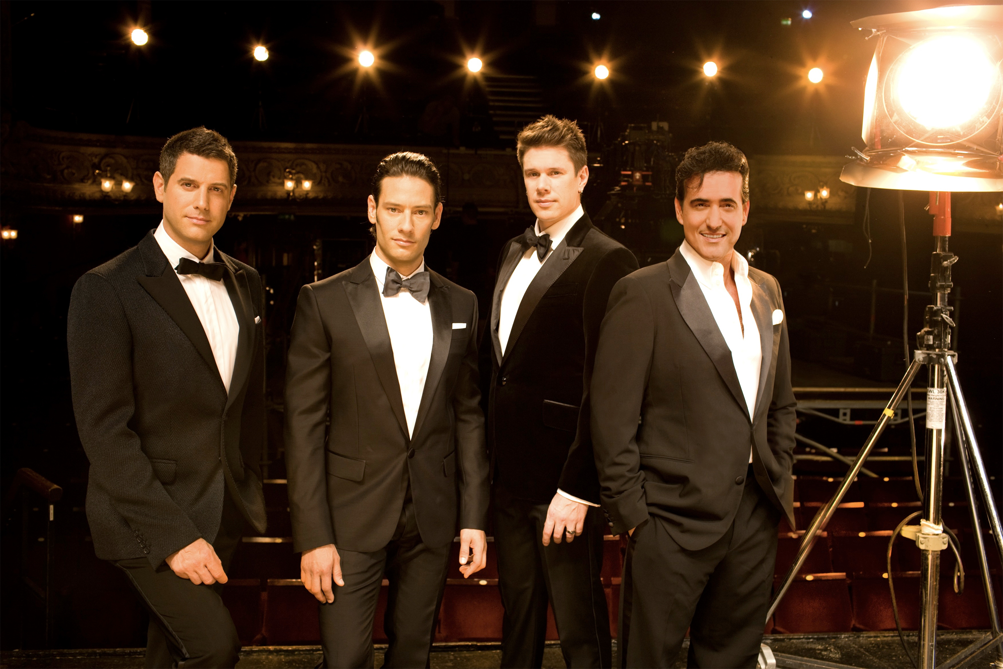 Multinational pop opera crossover group il divo sings at - Il divo music ...