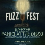 Fuzz Fest 2016 Scranton Weezer Panic at the Disco