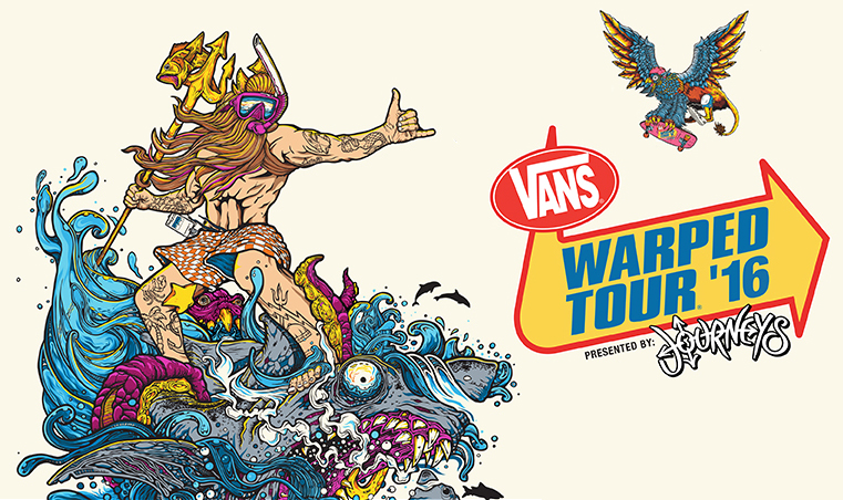 2016 Vans Warped Tour Lineup Announced With Old School