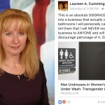 laureen a cummings lackawanna county commissioner bigot