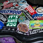 guitar case stickers music story
