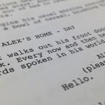 movie tv script screenwriting class