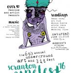scranton zine fest 2016 flyer adezzo