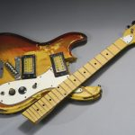 smashed guitar nirvana kurt cobain
