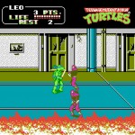 teenage mutant ninja turtles ii aracde game nes