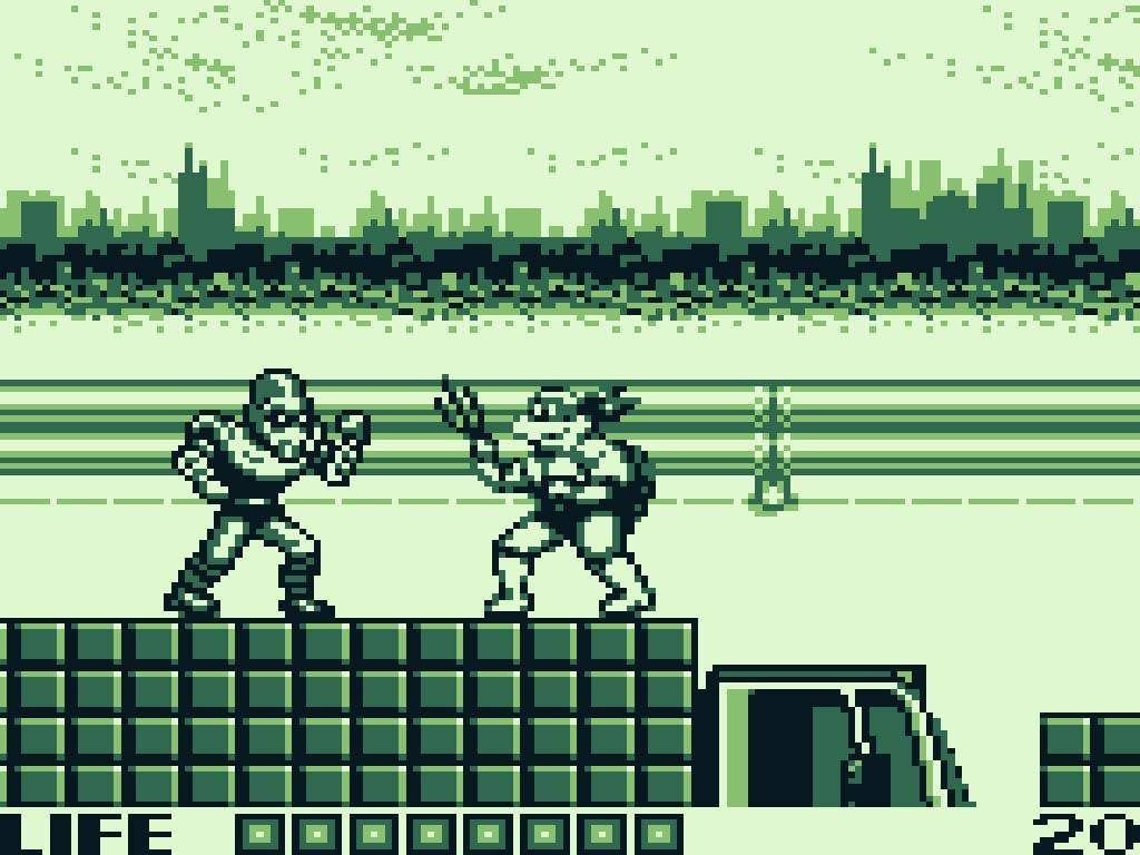 TURN TO CHANNEL 3: 'Fall of the Foot Clan' packed tons of TMNT action into a tiny Game Boy cart ...