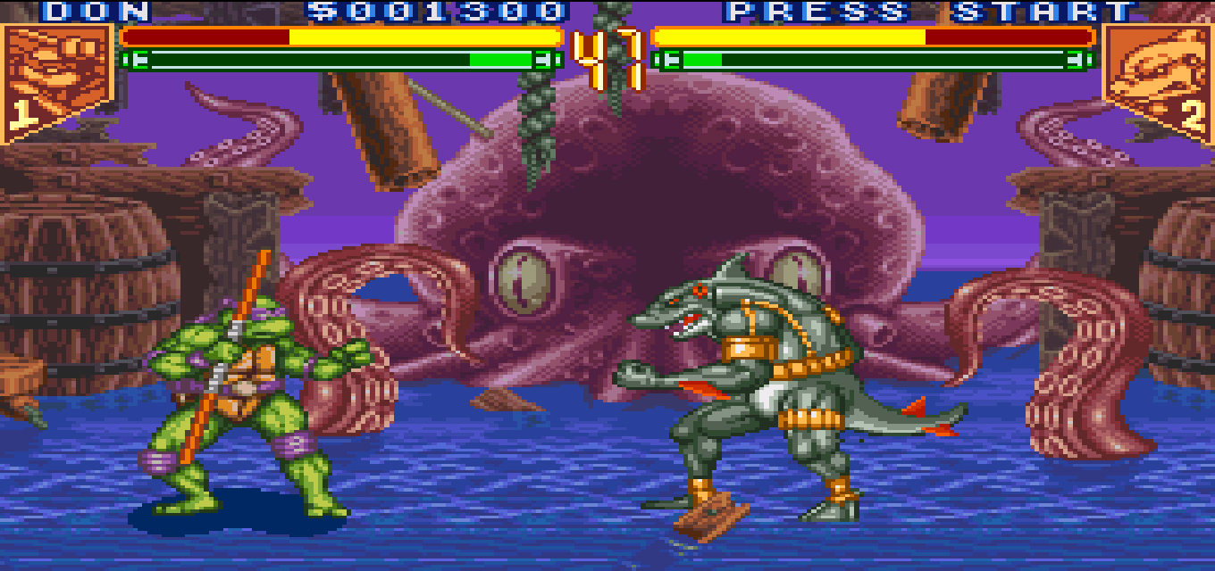 Turn To Channel 3 Tournament Fighters Offered Mature Fighting Game Take On Tmnt Nepa Scene
