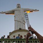rio olympics 2016 torch statue