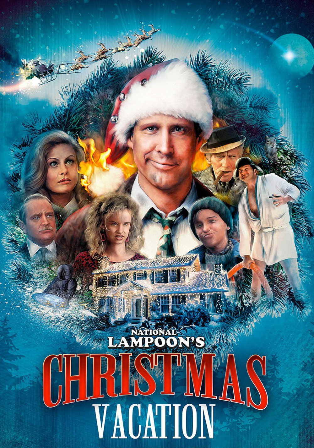 National Lampoon Christmas Vacation Cast