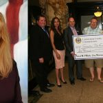 Lackawanna County Commissioner Laureen A. Cummings arts funding check