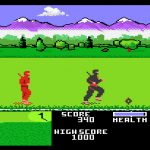 ninja golf atari 7800 review