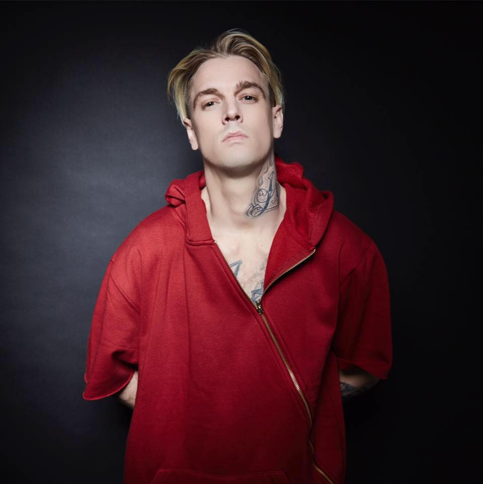 Pop star Aaron Carter ...