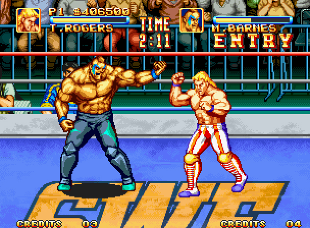 Turn To Channel 3 Neo Geo S 3 Count Bout Taps Out