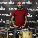 NEPA Scene Podcast Olyphant drummer teacher Chris Langan drumming demonstration